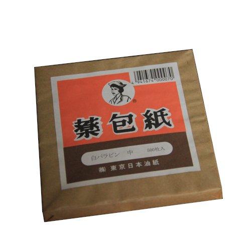薬包紙 パラピン 1包 500枚入 x 3パック 東京日本油紙
