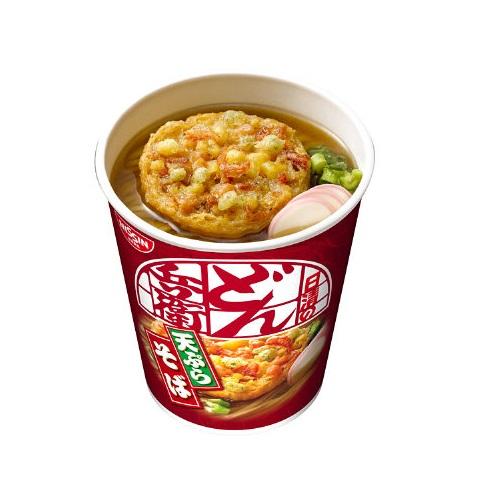 日清食品 タテ型どん兵衛天ぷらそば 1箱(20食入) 179-603 日清食品