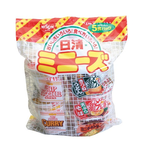 日清食品 日清ミニーズ 1箱(5食パック×6) 883-139 日清食品