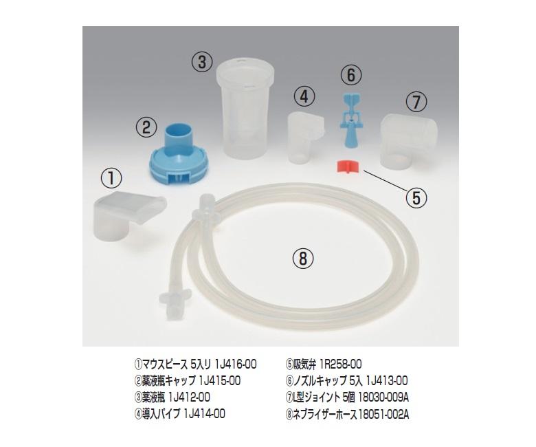 商品説明画像:ミリコン・ネブライザーキットC交換部品