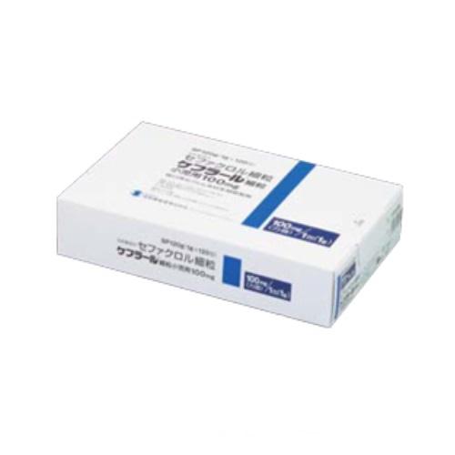 医療機器 ケフラール細粒 小児用 100mg 1g×120包 シオノギ製薬